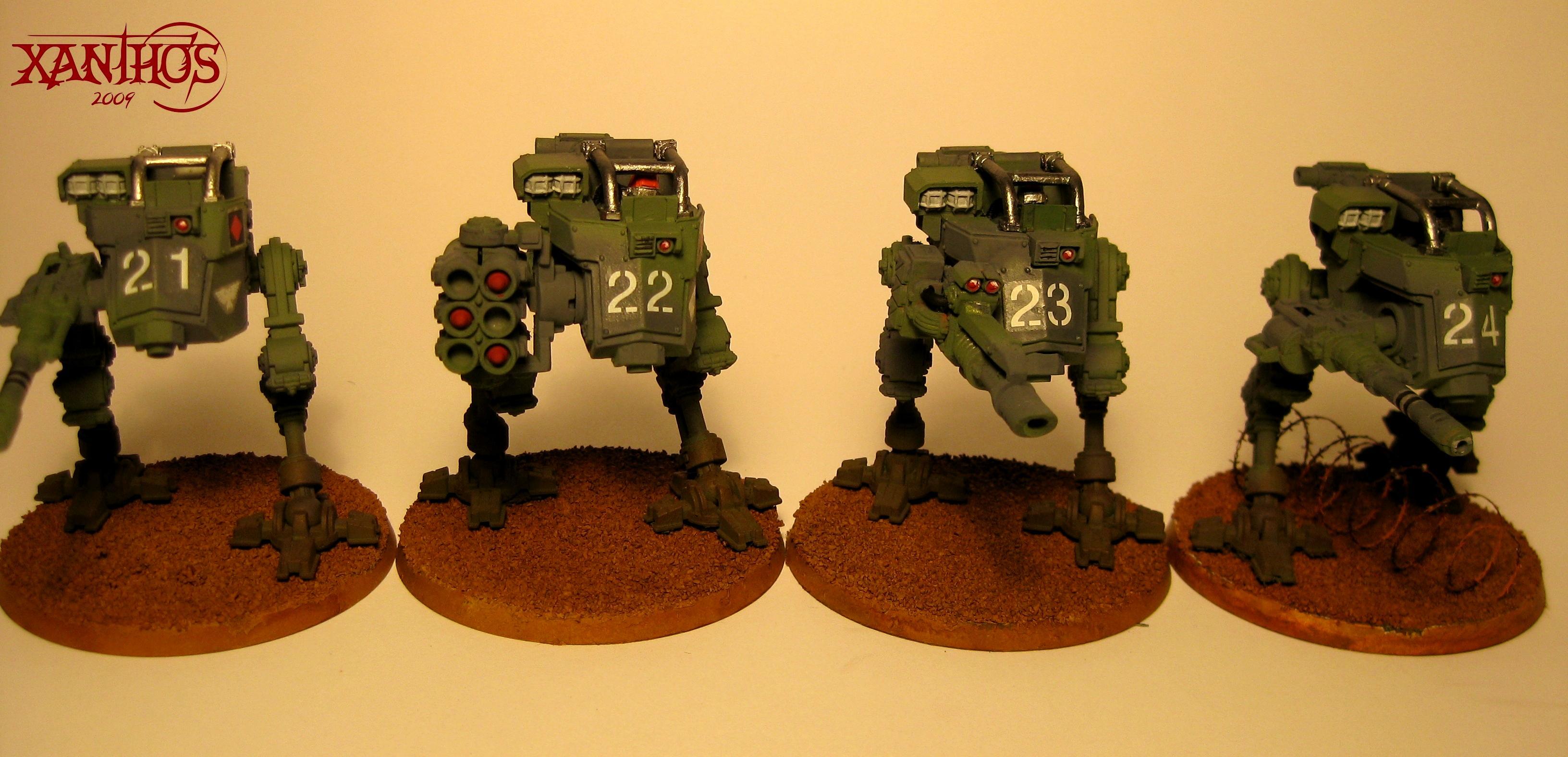 Imperial Guard, Sentinel, Warhammer 40,000