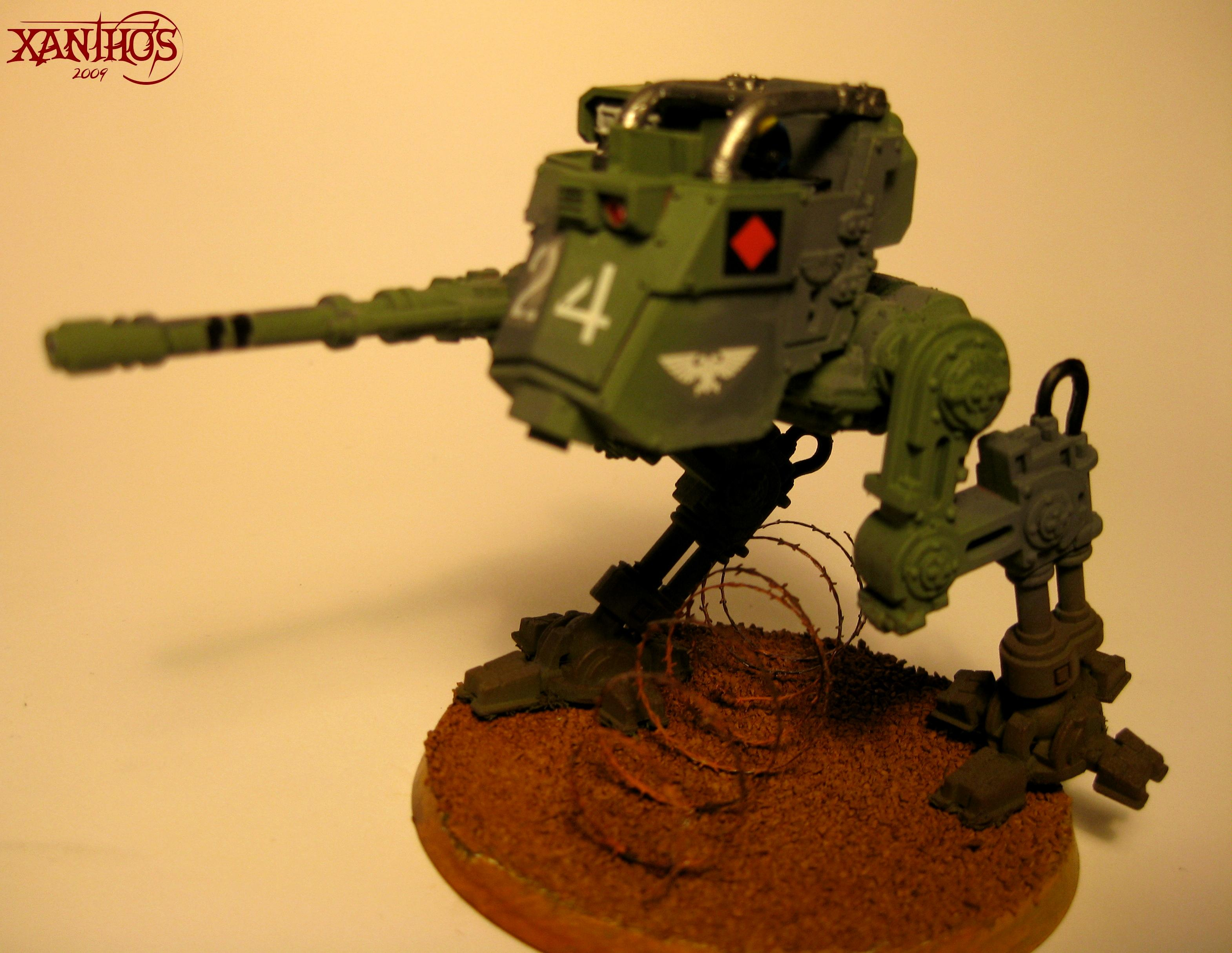 Armored Sentinel, Autocannon, Imperial Guard, Sentinel, Warhammer 40,000