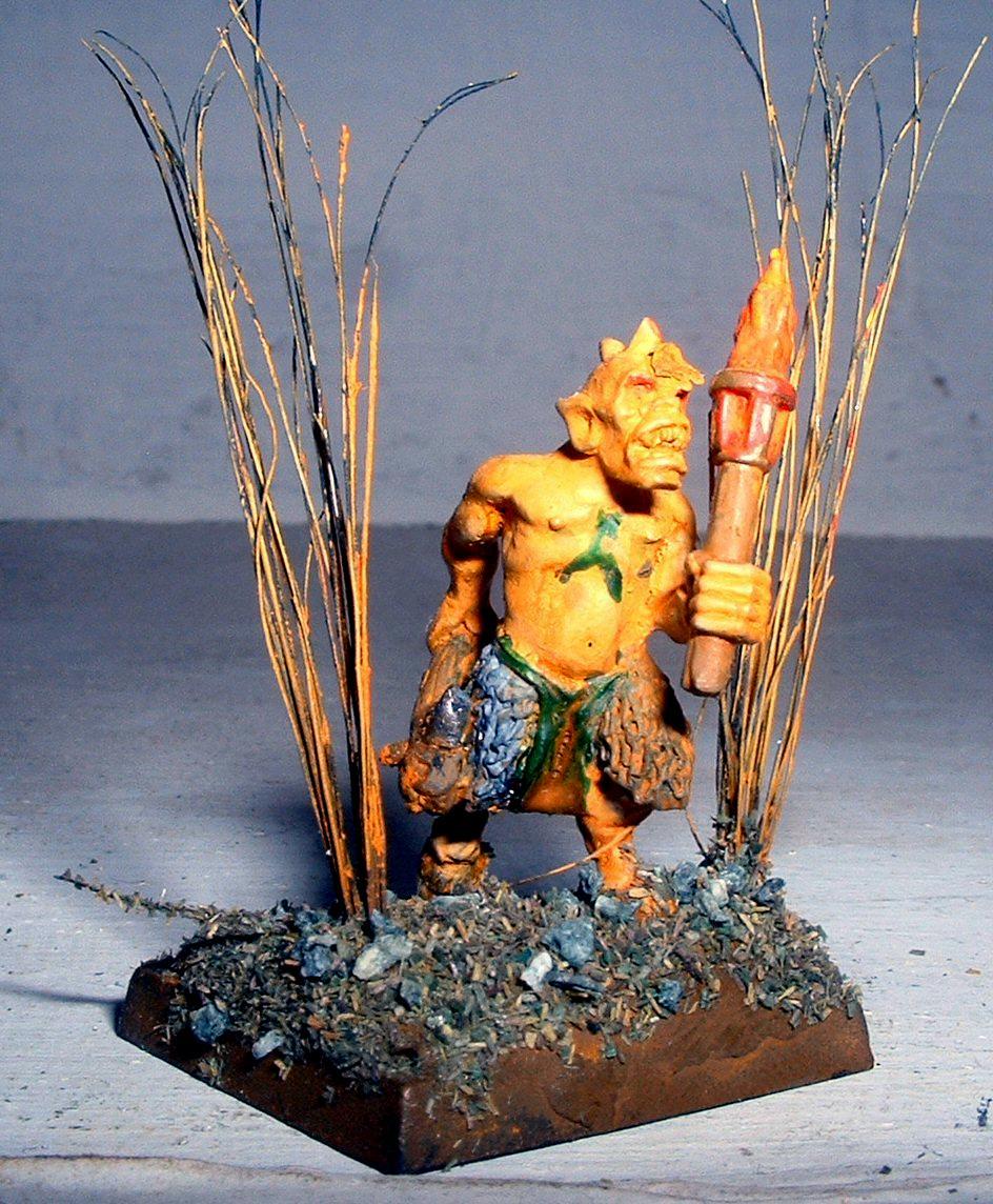 Beastmen, Nurgle, Torch, Ungor