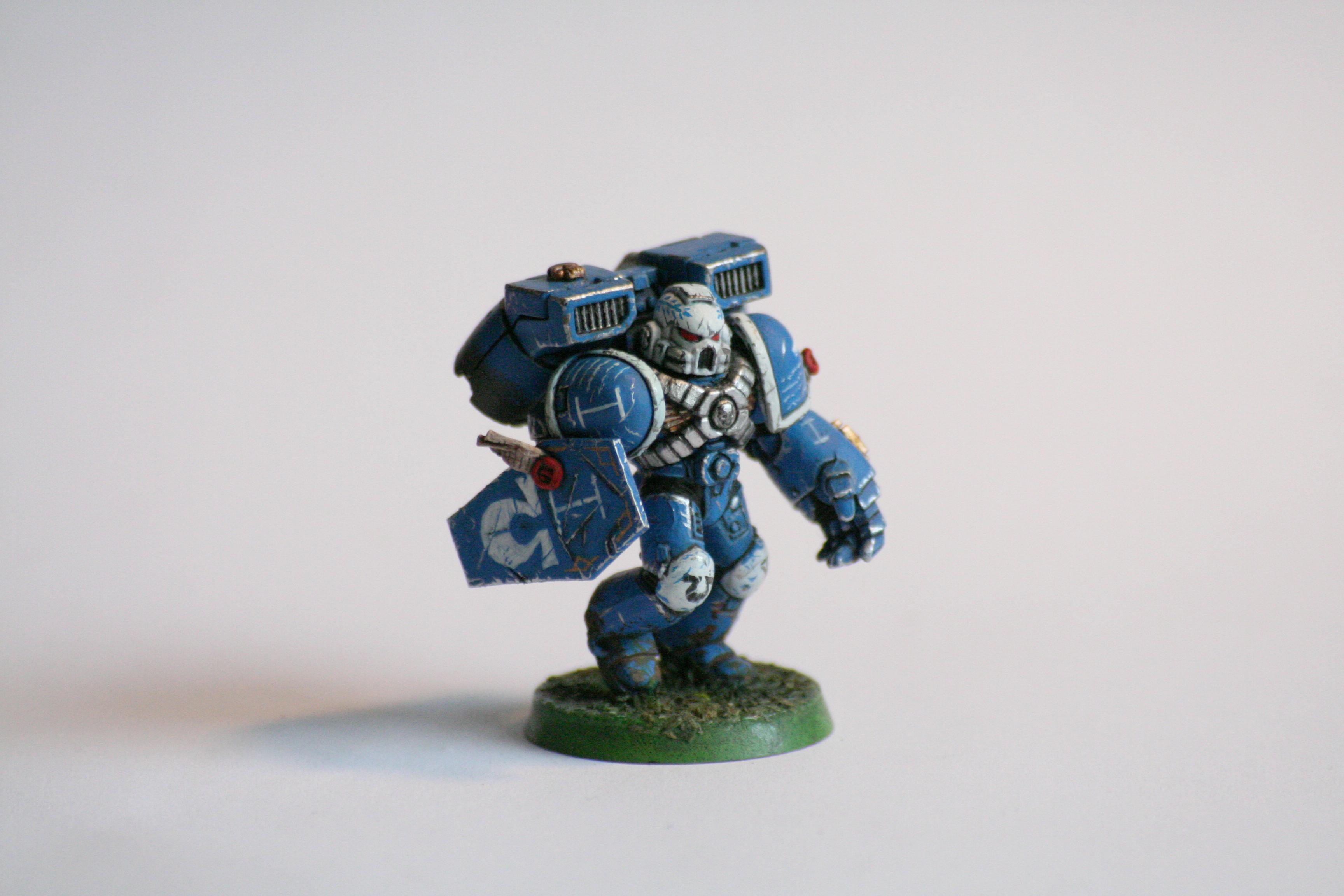 Assault, Ultramarines, Vanguard, Weathered