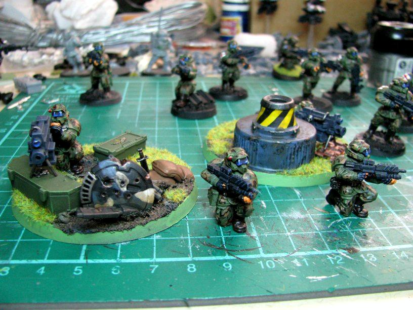 Bolter, Conversion, Guard, Heavy, Pig Iron, Weapon