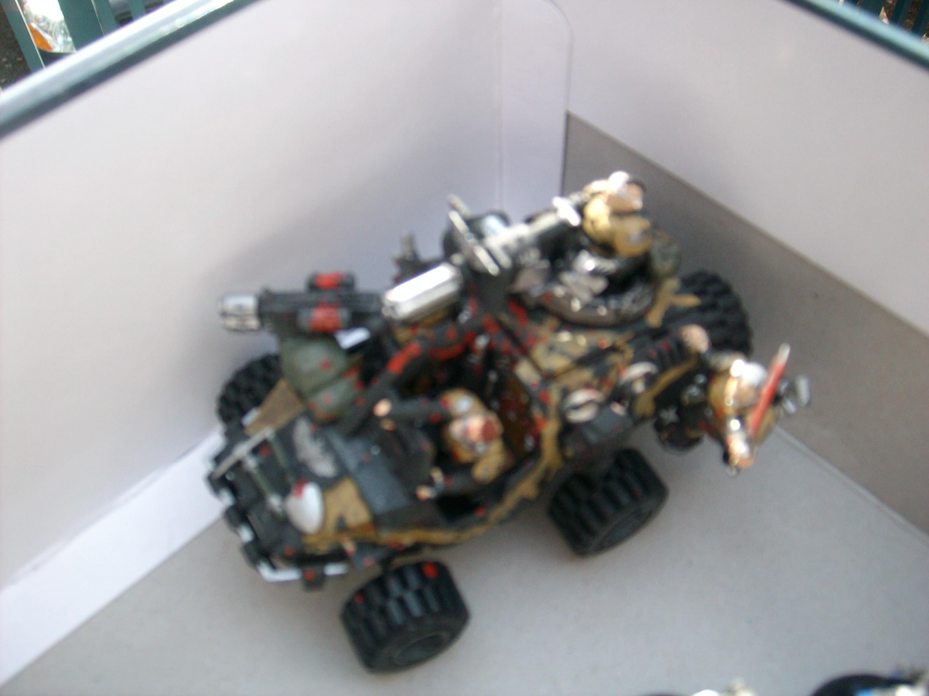 Blurred Photo, Buggy, Imperial Guard, Jeep