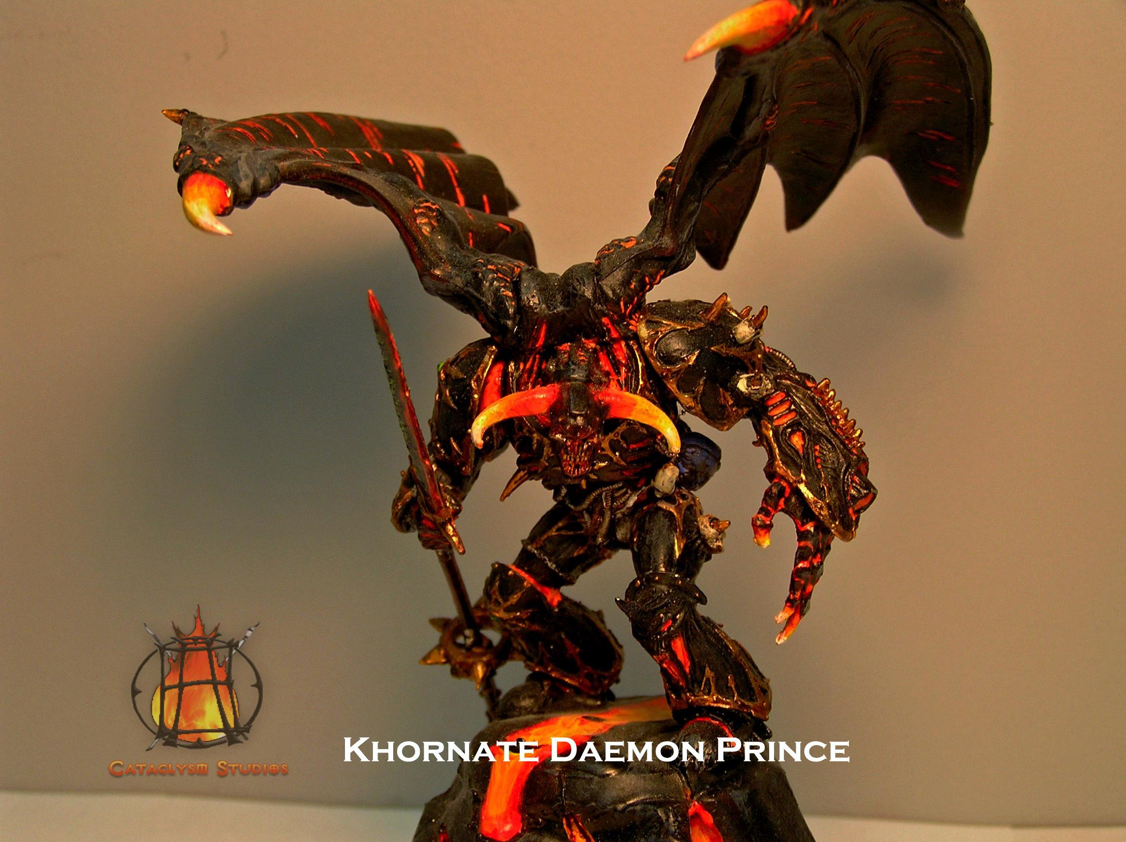 Cataclysm Studios, Chaos, Deemon Prince, Khorn, Khornate, Object Source Lighting