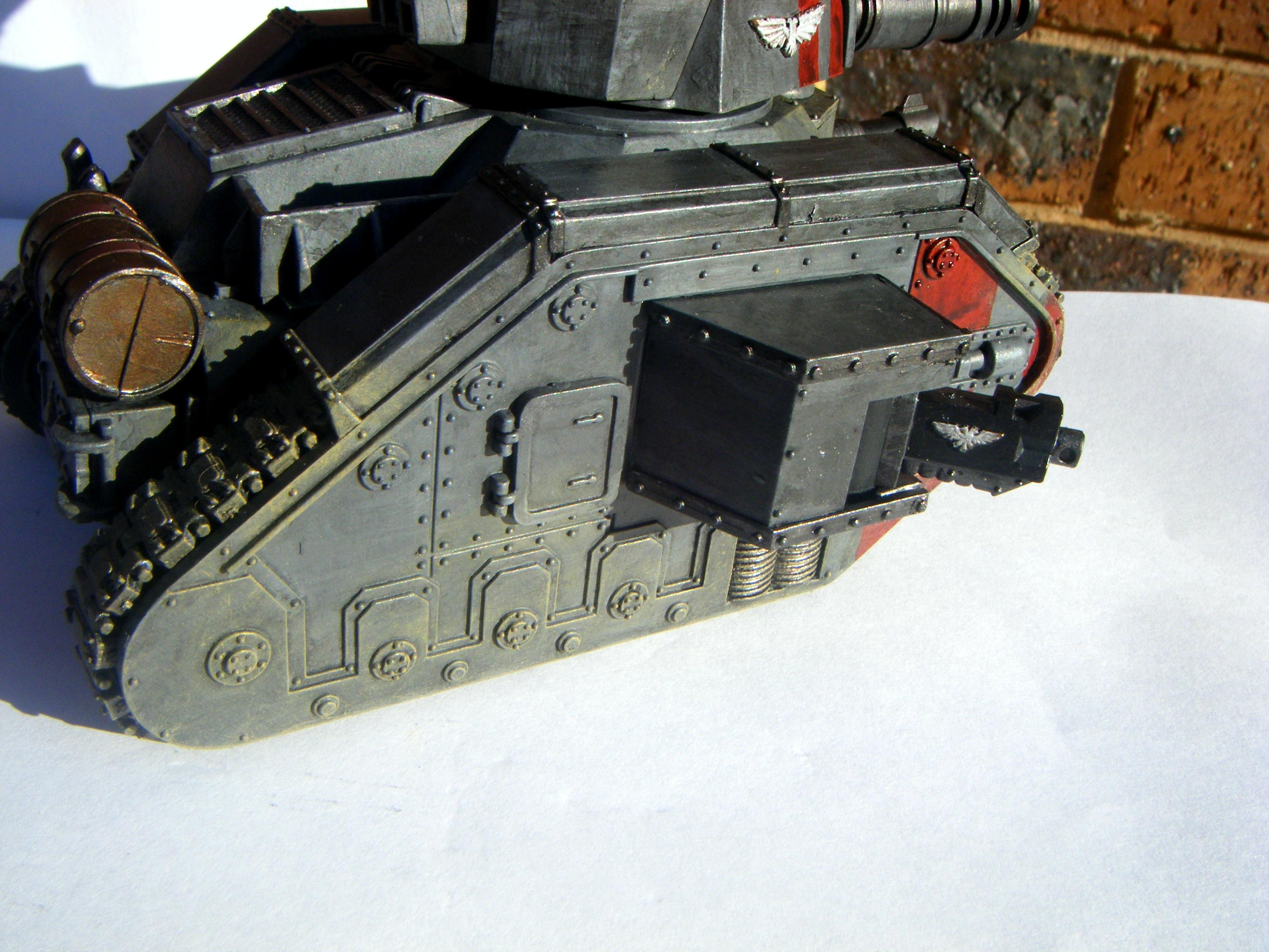 Grey, Imperial Guard, Leman Russ, Red, Side