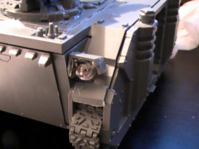 Custom, LED, Mod, Razorback, Space Marines