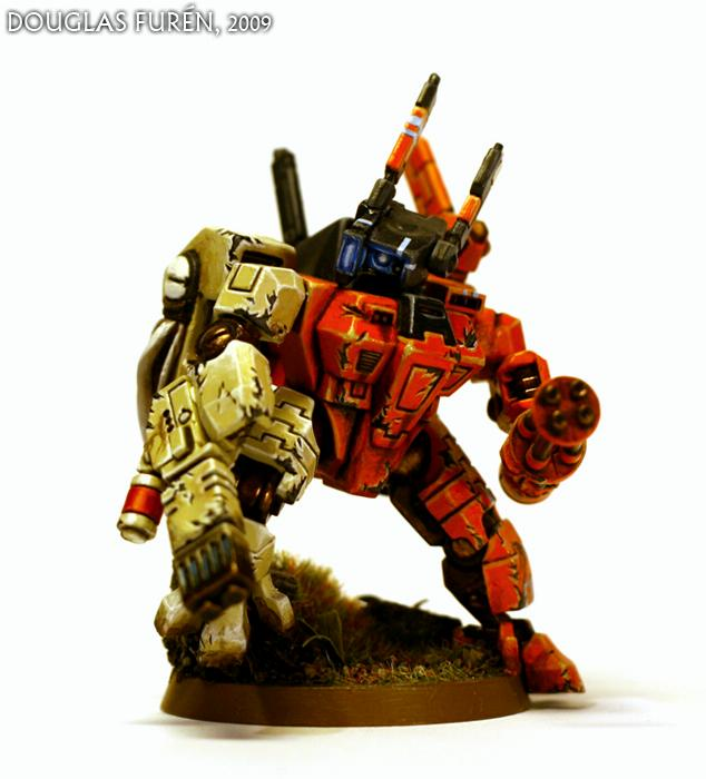 Crisis Battlesuit, Crisis Conversion, Hunter Cadre, Sept, Tau, Tau Empire, XV8