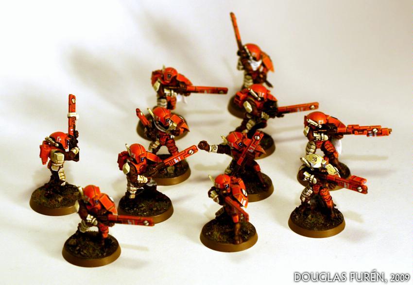 Fire Warriors, Hunter Cadre, Sept, Tau, Tau Empire