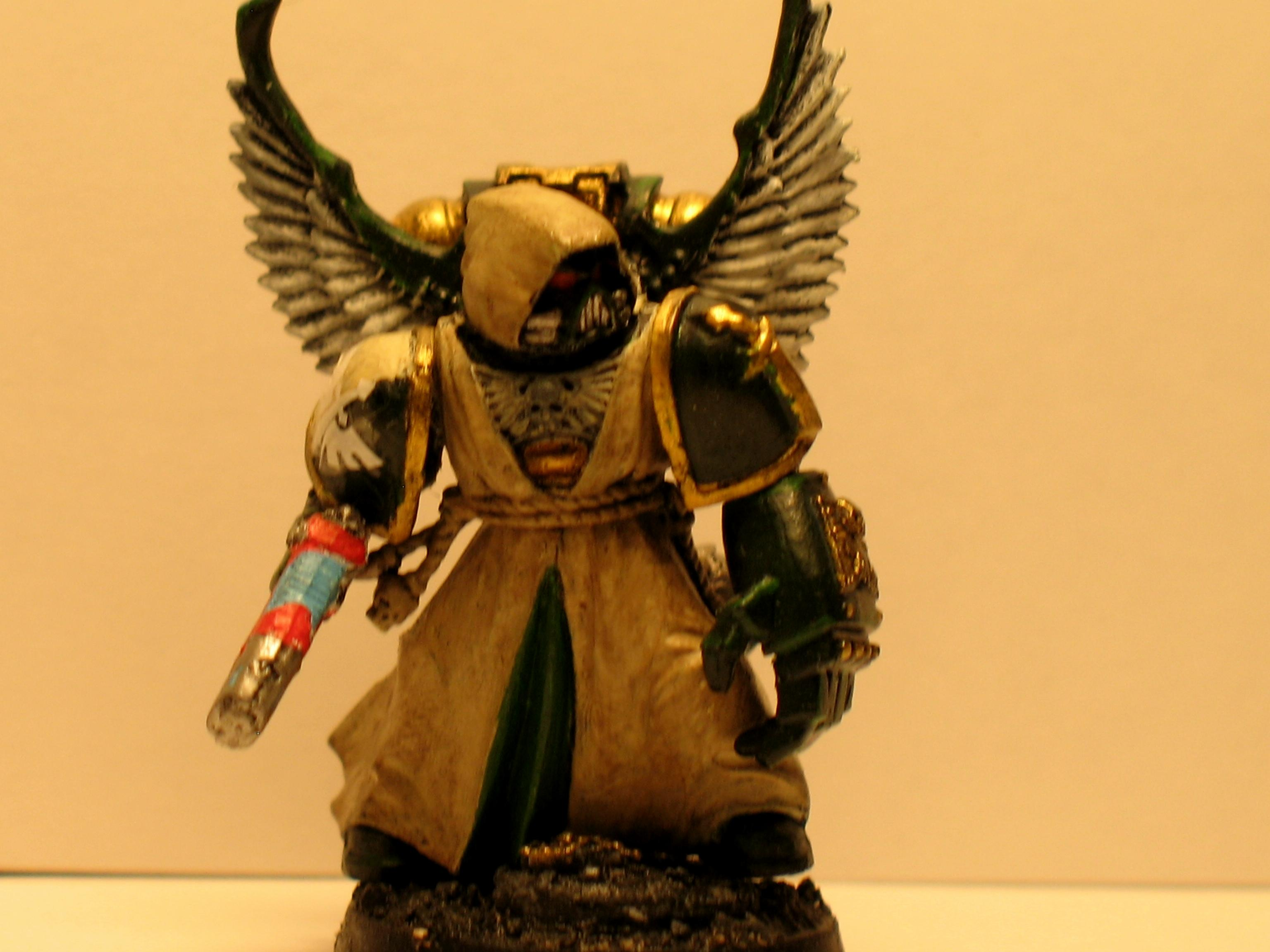Command Squad Warhammer 40k, Conversion, Dark Angel Command Squad, Dark Angels, Warhammer 40,000