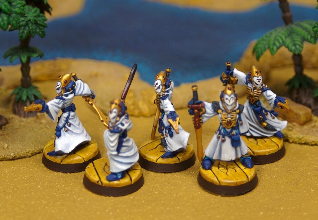 Egypt, Eldar, Warlock