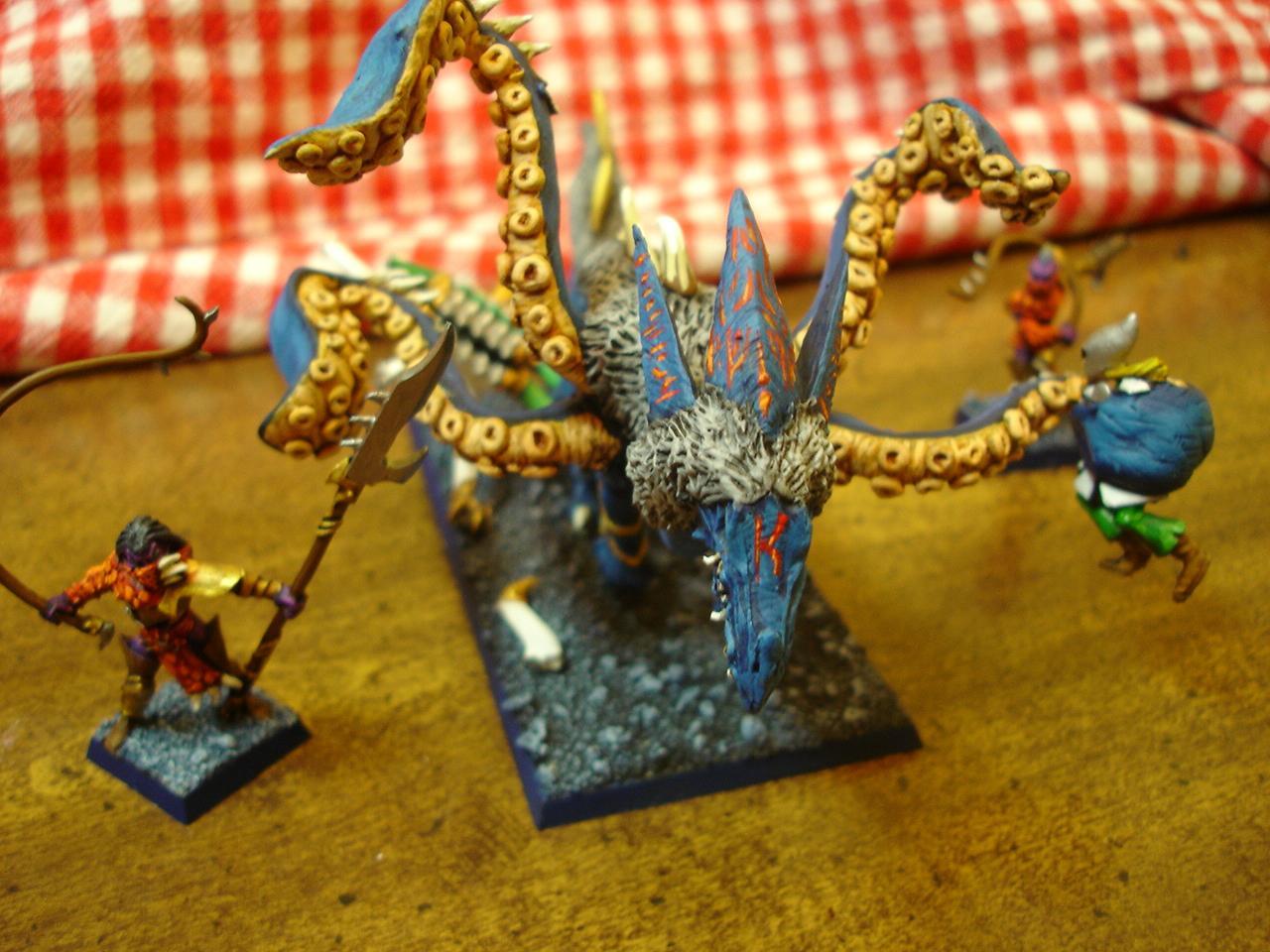 Black Ark, Dark Elves, Hydra, Warhammer Fantasy