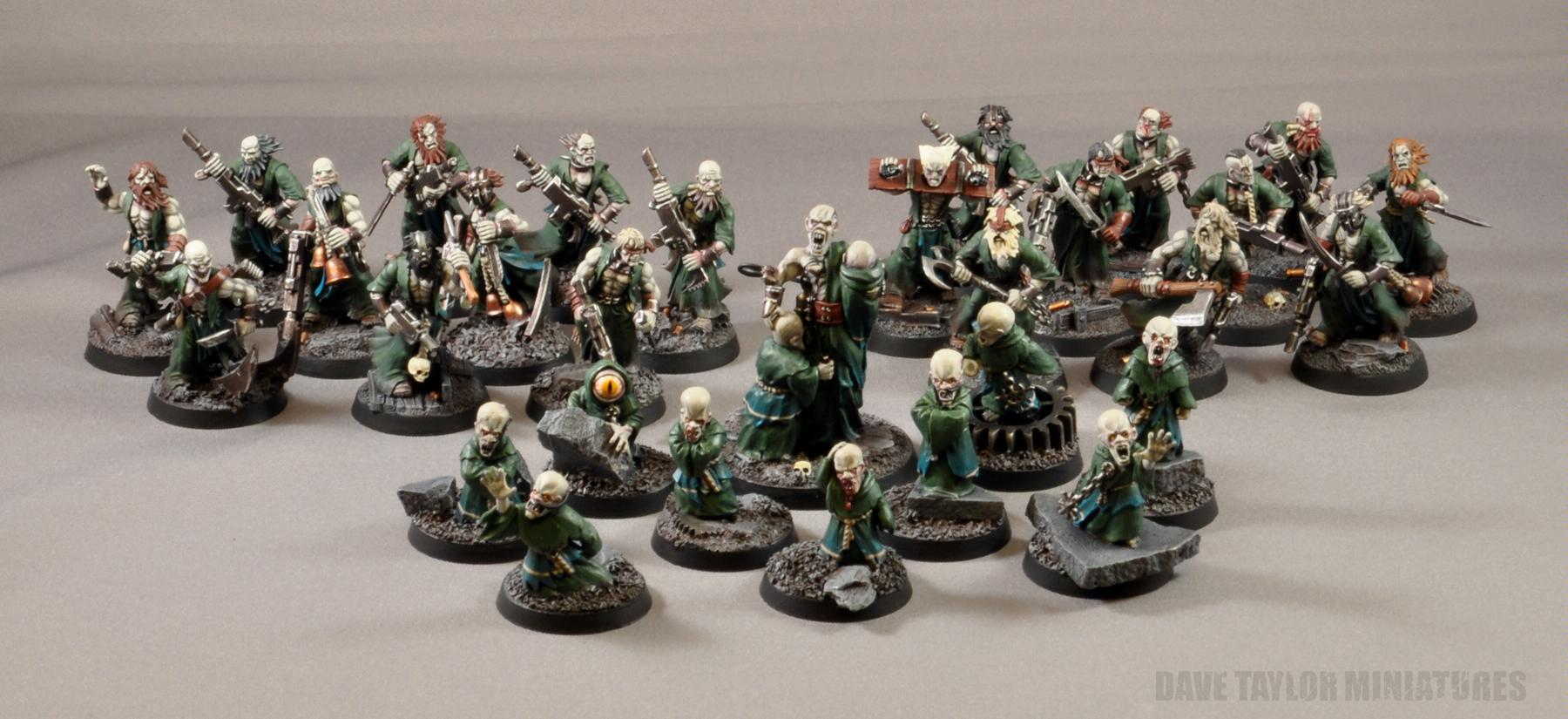 Blood Pact, Infardi, Lost And The Damned, Mutant, Psykers
