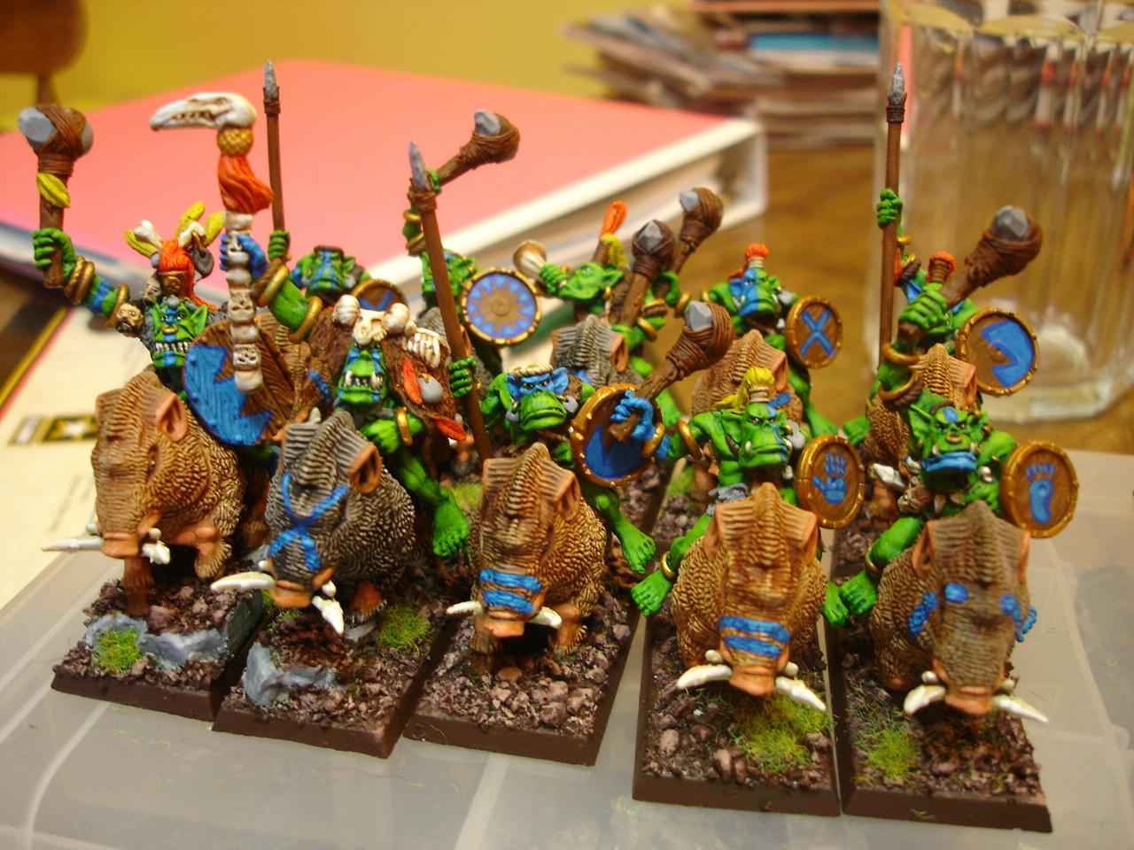 Orcs, Orcs And Goblins, Savage Orcs, Warhammer Fantasy