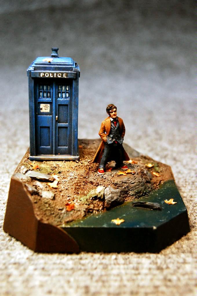 Diorama, Dr Who, Fenris, Heresy