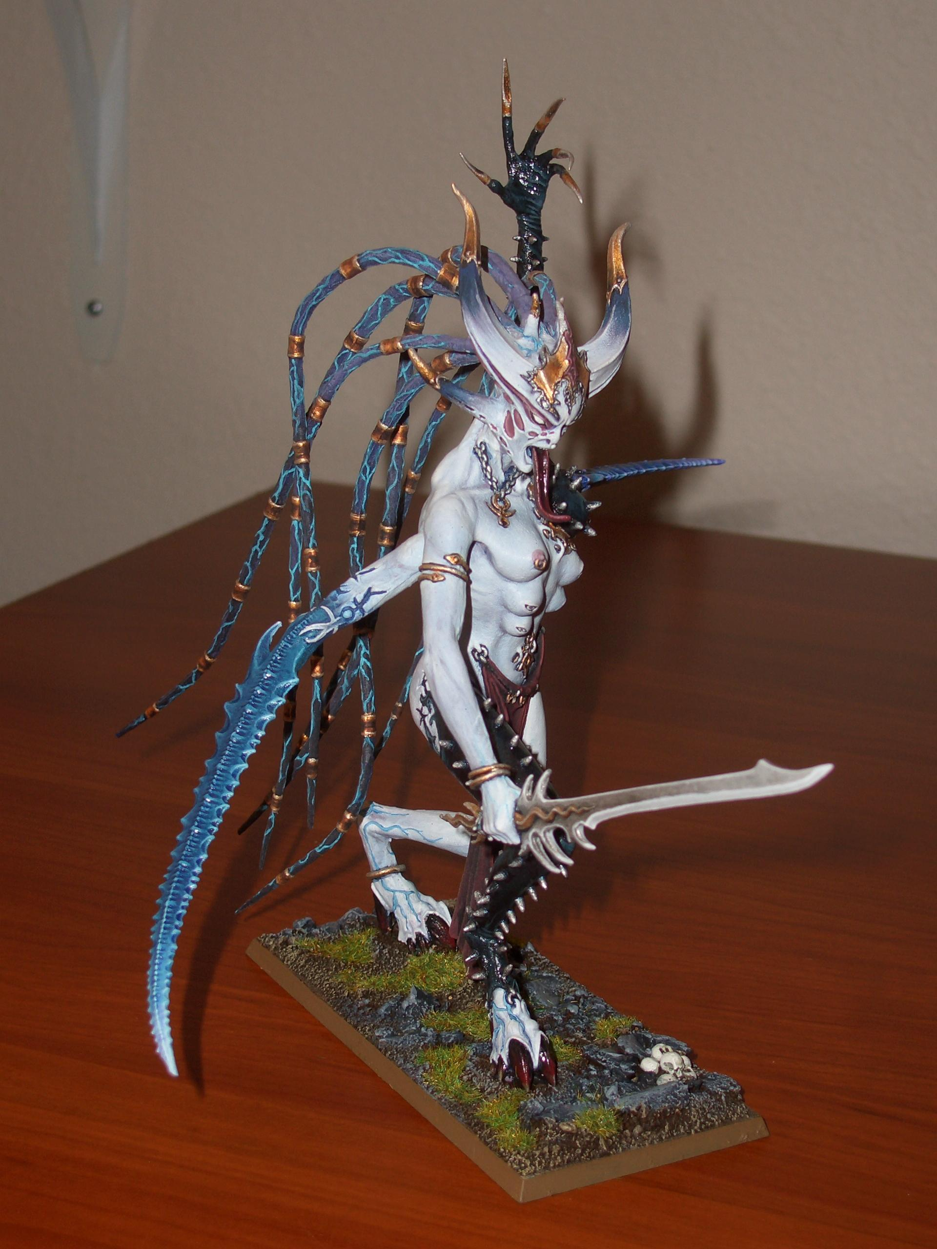 Chaos, Chaos Daemons, Daemons, Forge World, Keeper Of Secrets, Slaanesh, Warhammer Fantasy