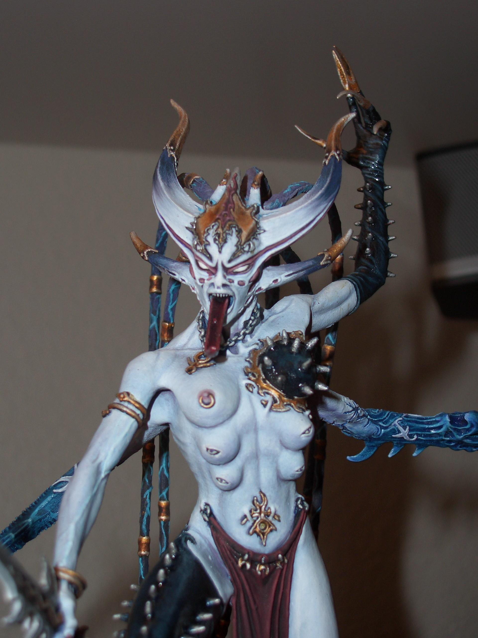 Chaos, Chaos Daemons, Daemons, Forge World, Keeper Of Secrets, Slaanesh, Warhammer Fantasy
