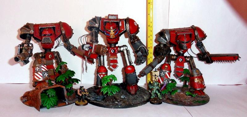 Knights, Titan, Walker