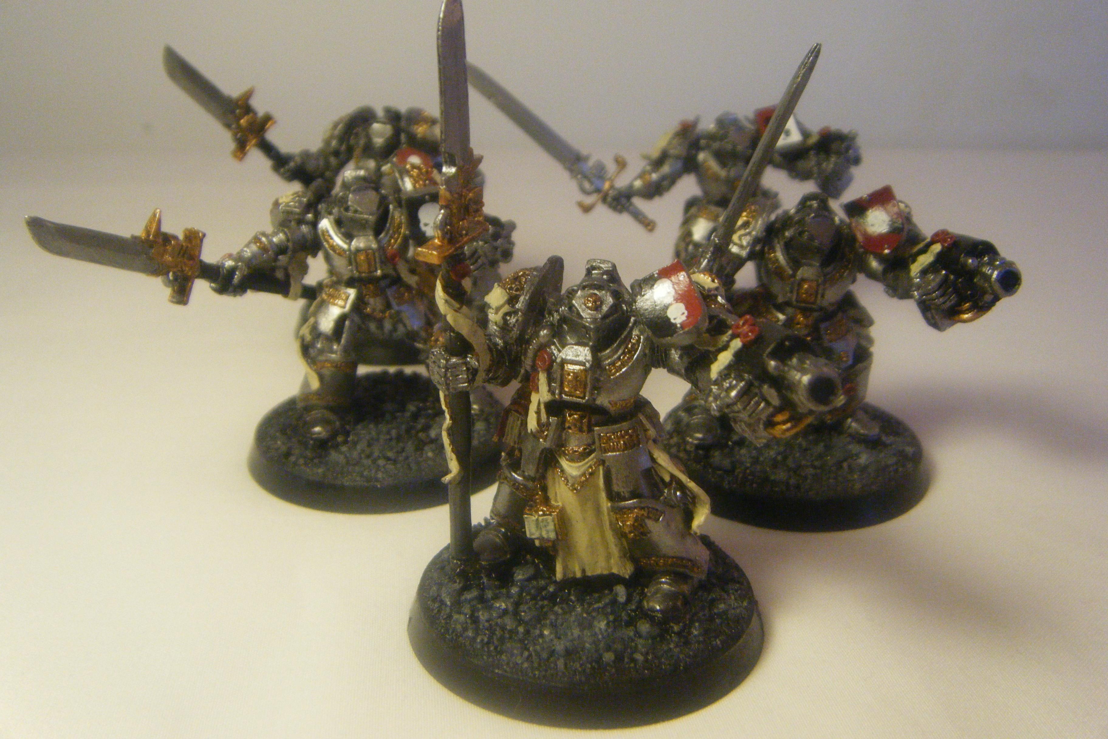 Dæmonhunters, Grey Knight Terminators, Grey Knights, Inquisition, Warhammer 40,000