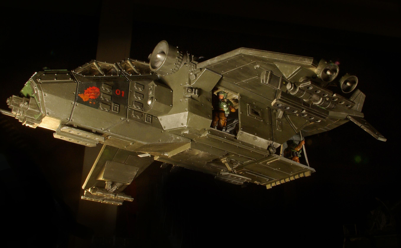 Gunship, Styalised Shot, Transport, Valkyrie Conversion