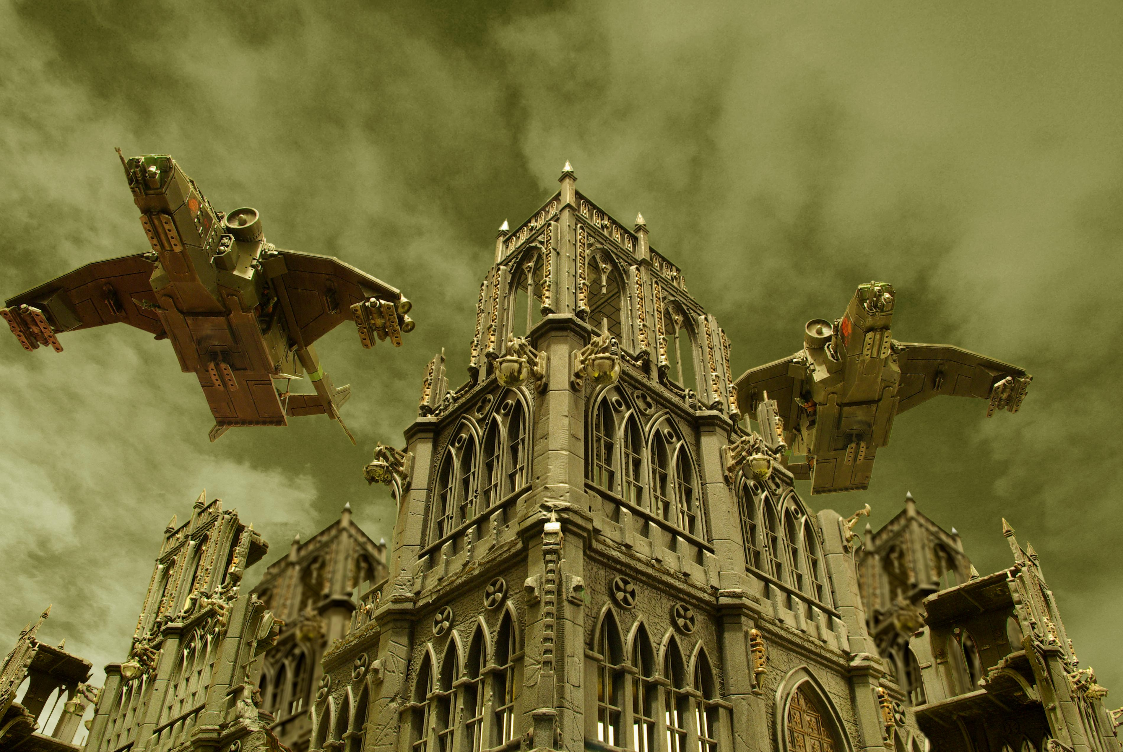 Action, Awesome, Imperial Guard, Pegasus, Photoshop, Valkyrie
