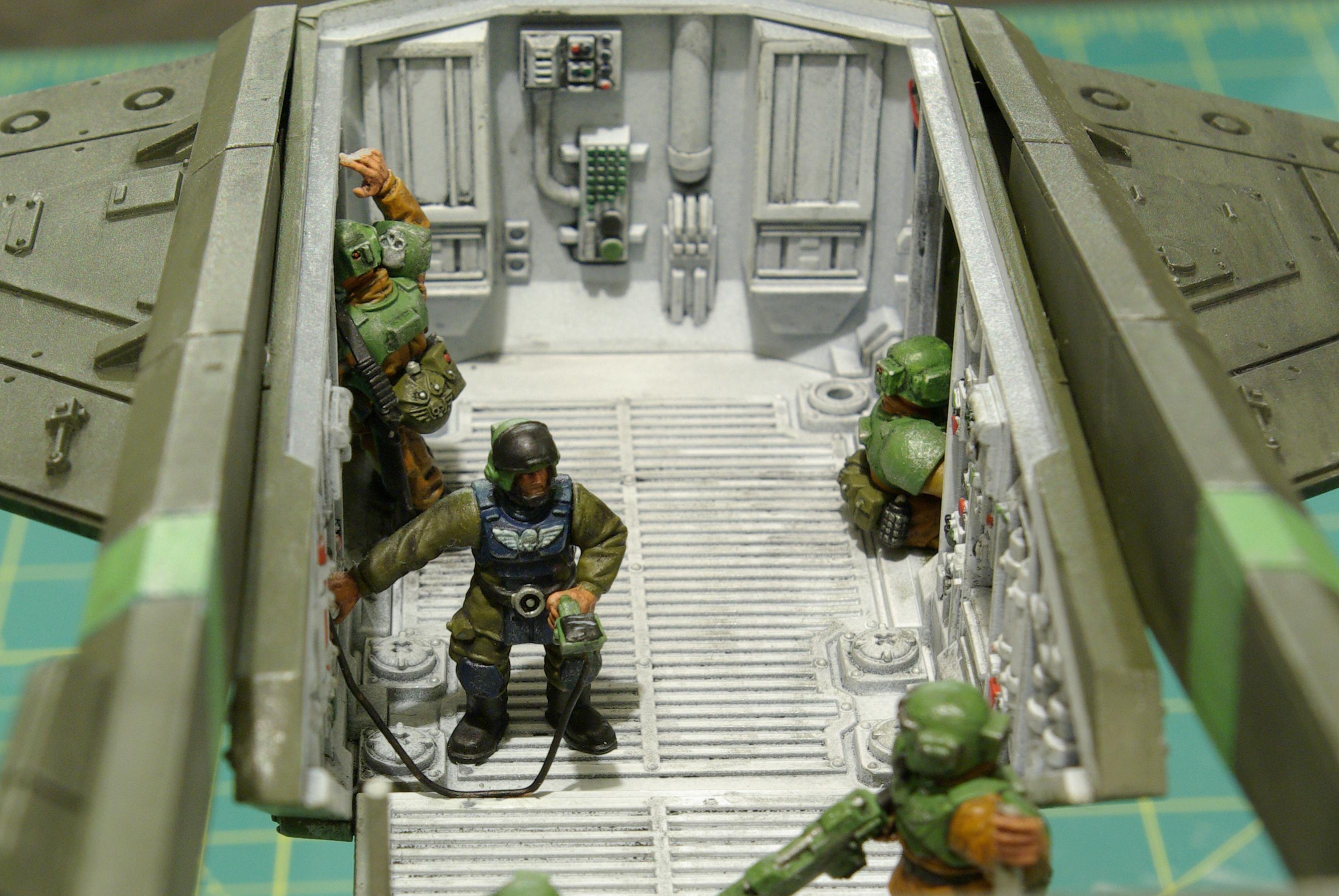 Imperial Guard, Interior, Valkyrie