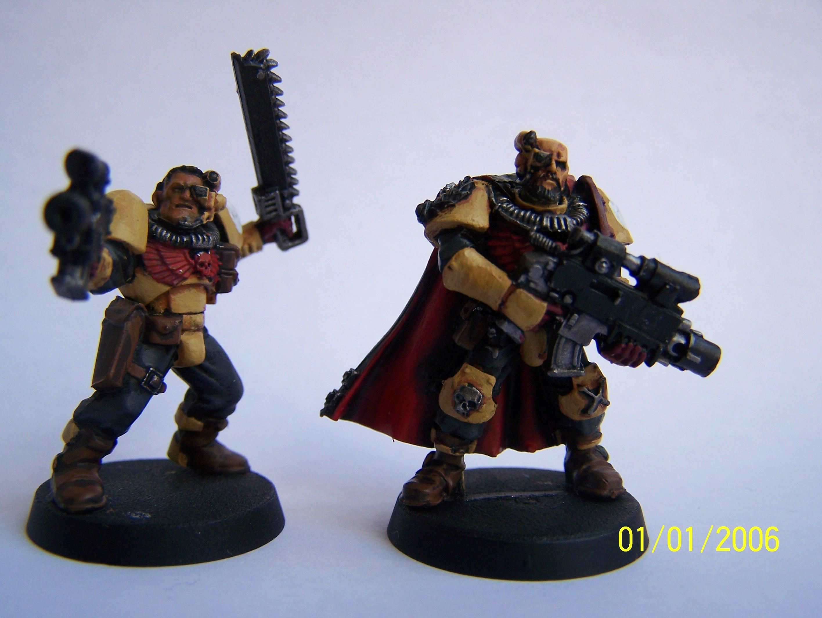 Imperial Fists, Scouts, Space Marines, Warhammer 40,000, Work In Progress
