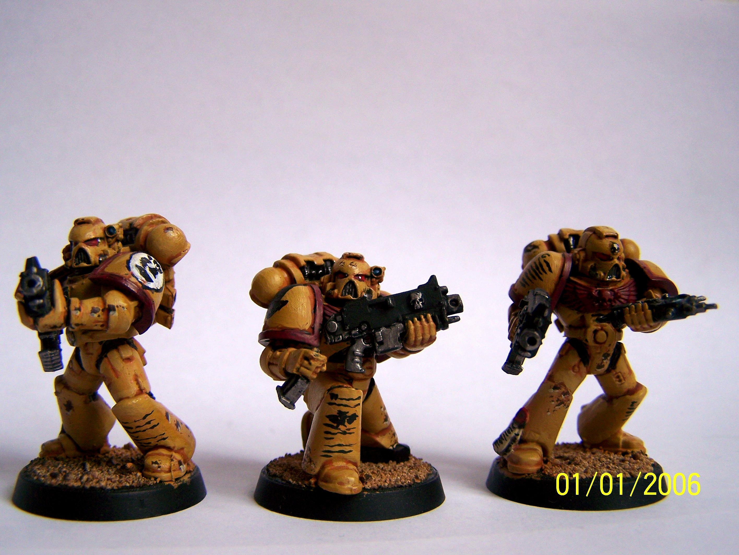 Imperial Fists, Space Marines, Tactical Squad, Warhammer 40,000