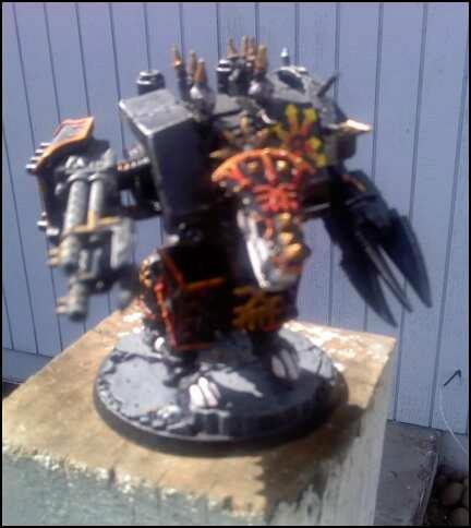 Black Legion, Chaos, Conversion, Dreadnought