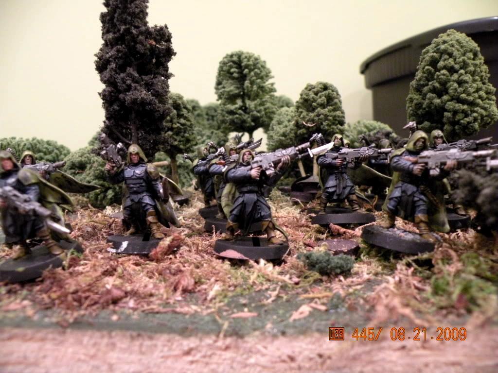 Base Those Suckas, Imperial Guard, Tanith, Wood Elves