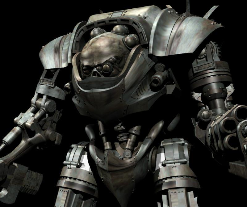 Dreamforge, Leviathan, Mech, Robot, Titan, Walker