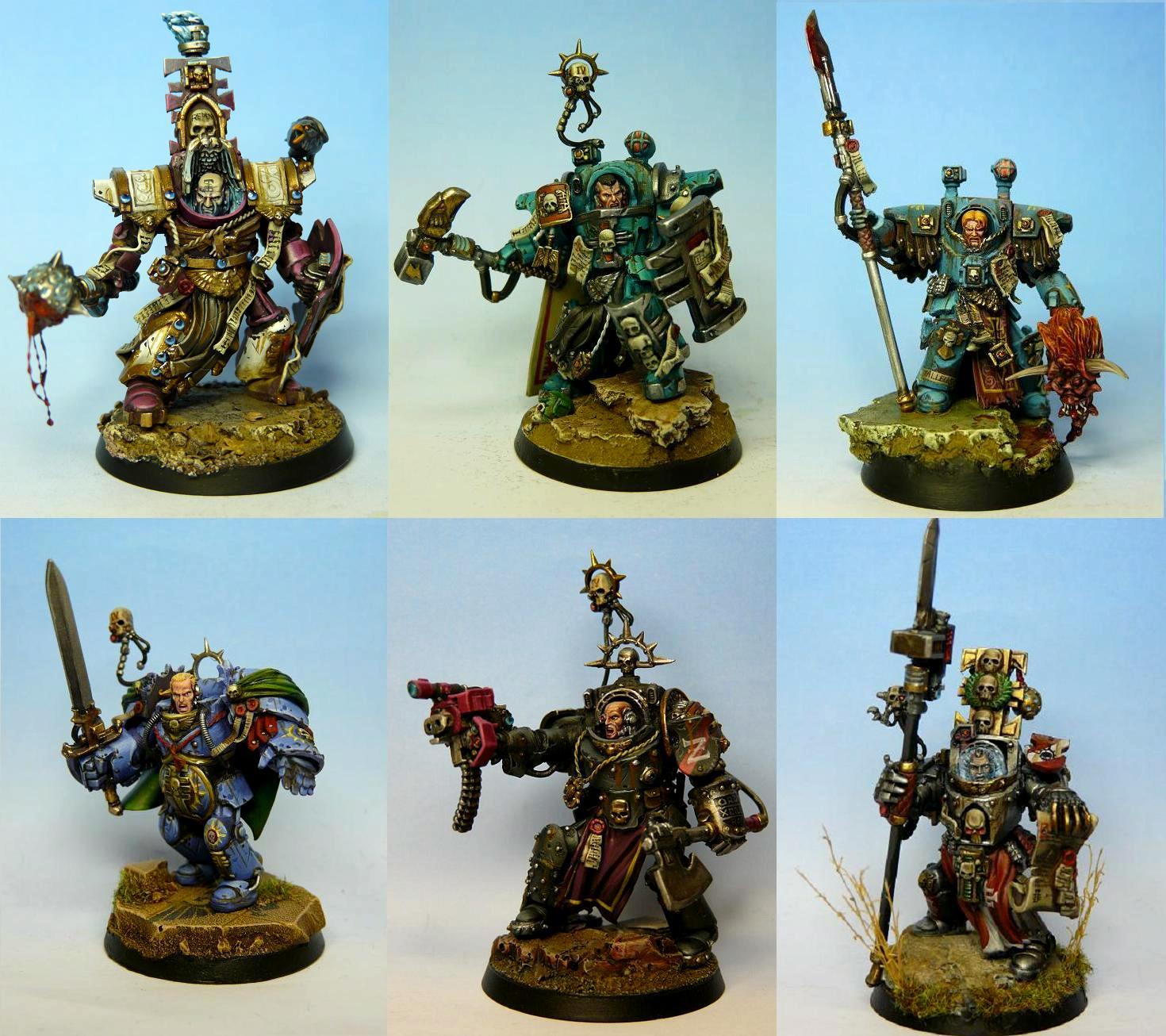 Conversion, Daemonhunters, Inquisition, Inquisitor, Ordo Malleus, Terminator Armor, Warhammer 40,000, Witch Hunters