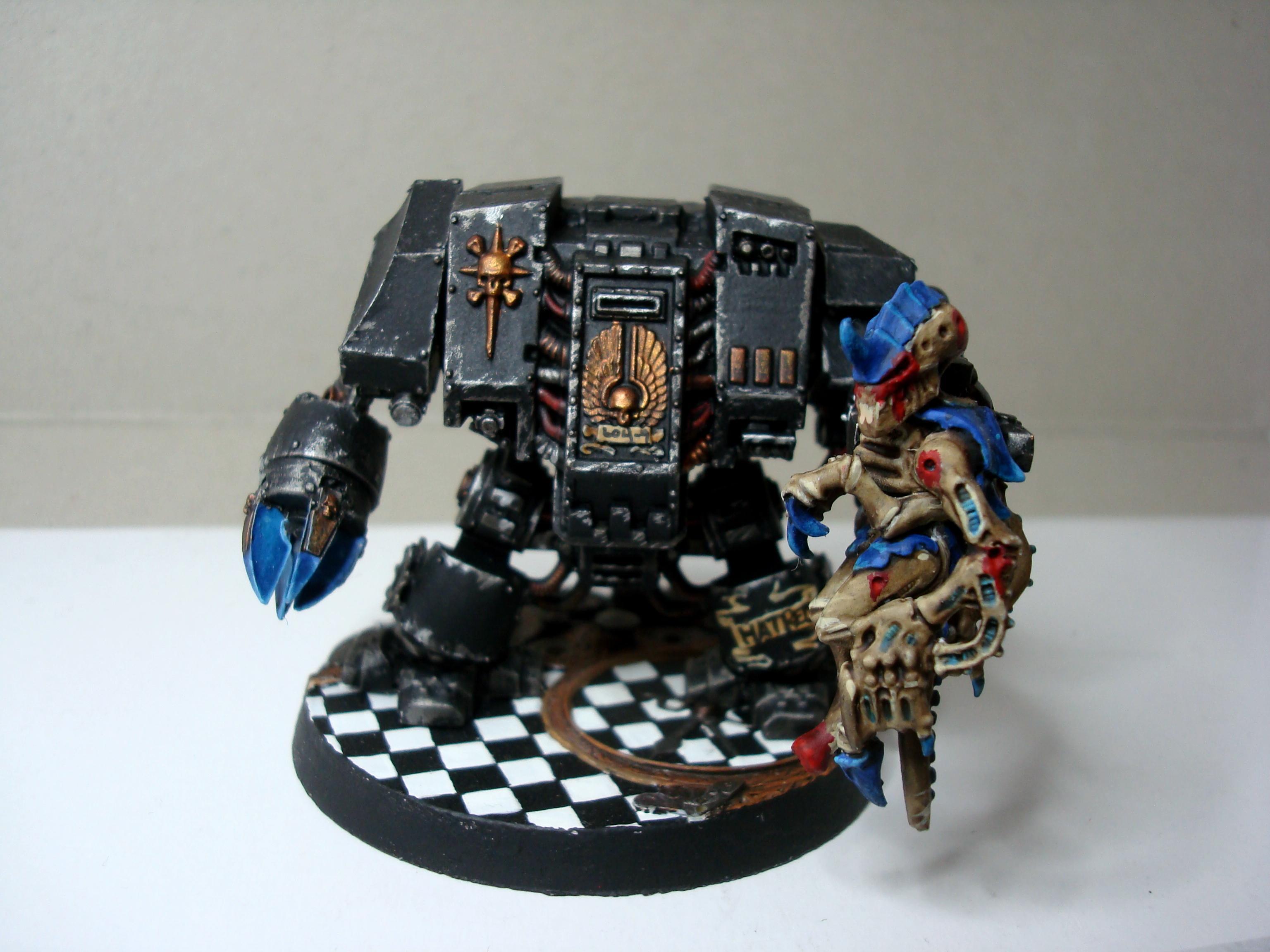 Dreadnought, Tyranids, Work In Progress