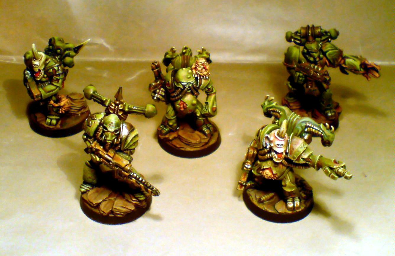 Death Guard, Nurgle, Out Of Production, Plague, Rogue Trader, Space Marines