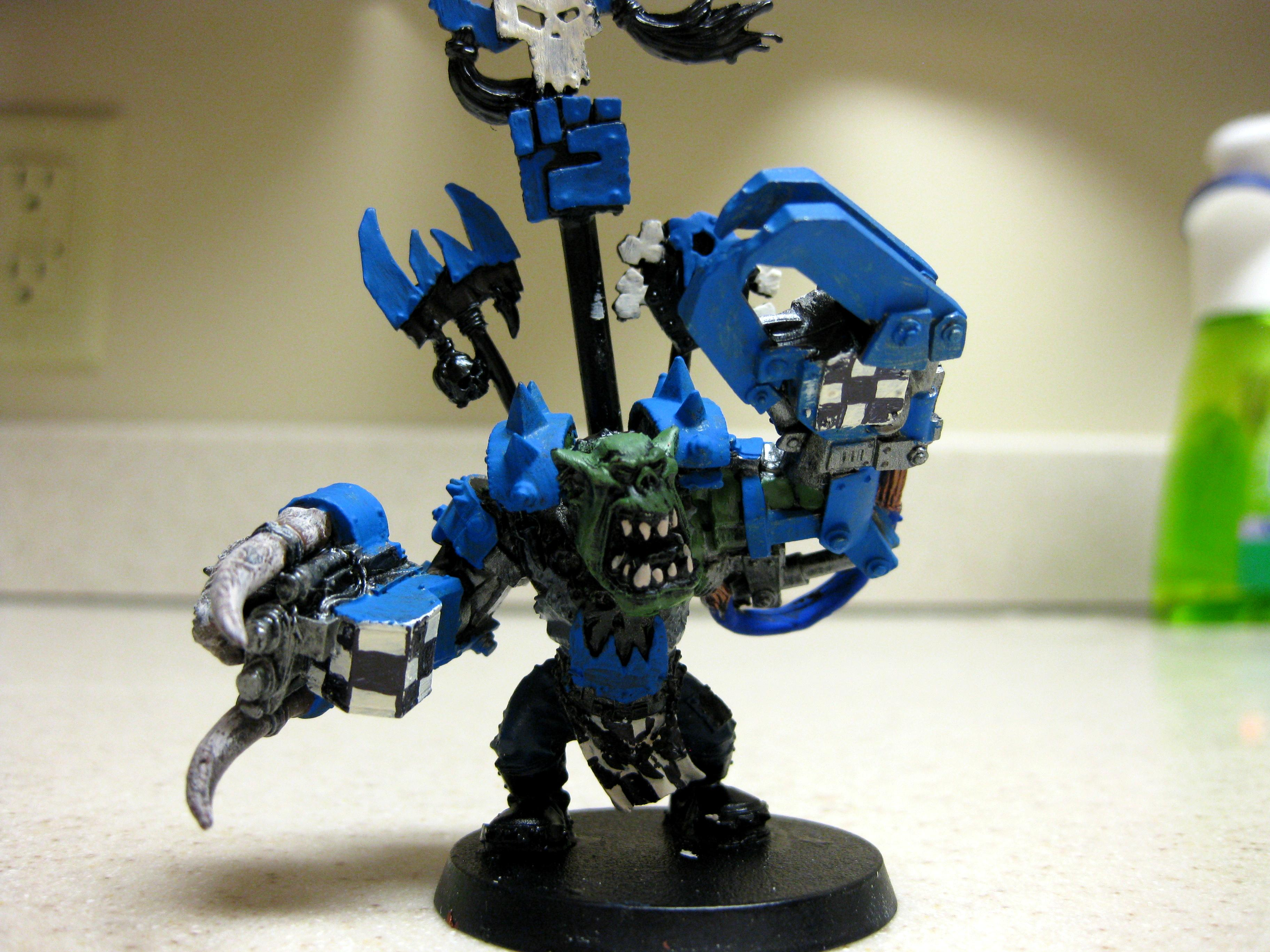 Conversion, Converted Ork Warboss, Orks, Warboss