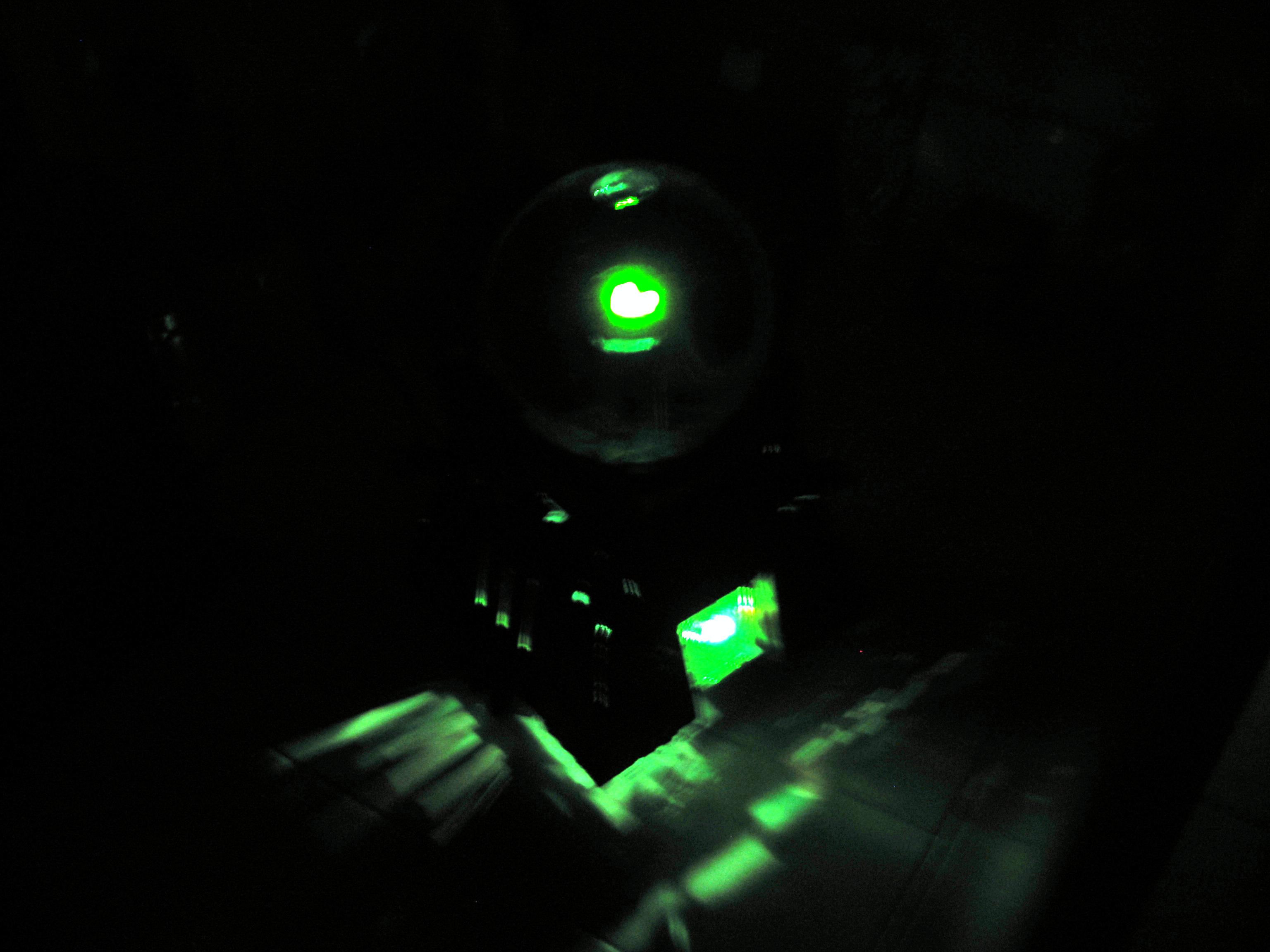 Necron Monolith Led Light
