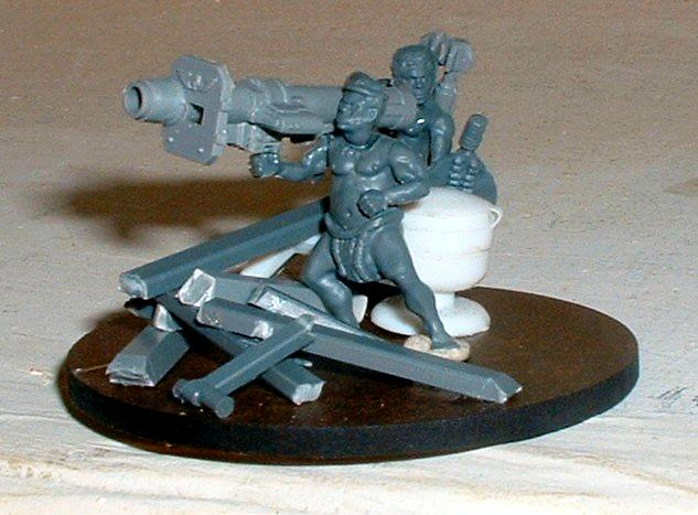 Heavy Weapon Team, Imperial Guard, Missile Launcher, Wargames Factory, Warhammer 40,000, Zulu