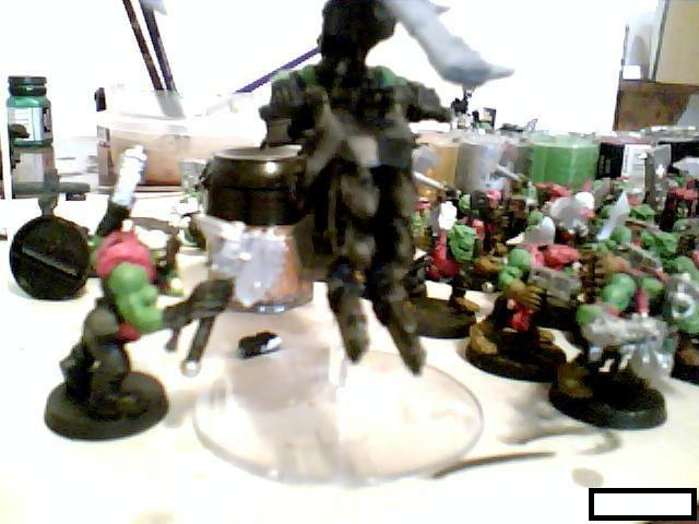 Blurred Photo, Ork Wip, Orks