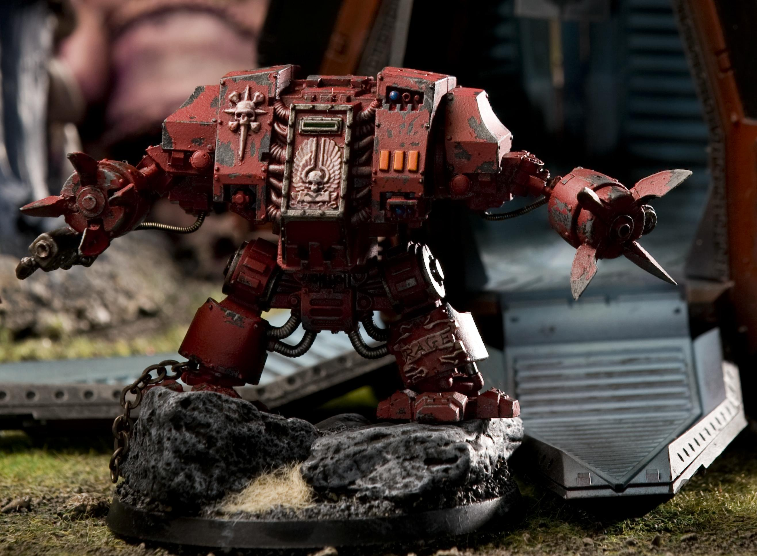 Blood Angels, Dreadnought, Furioso, Jazz Hands