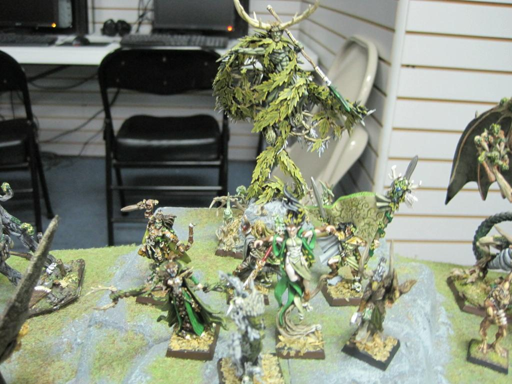 C'tan, Conversion, Pro-painted, Special Character, Wood Elves