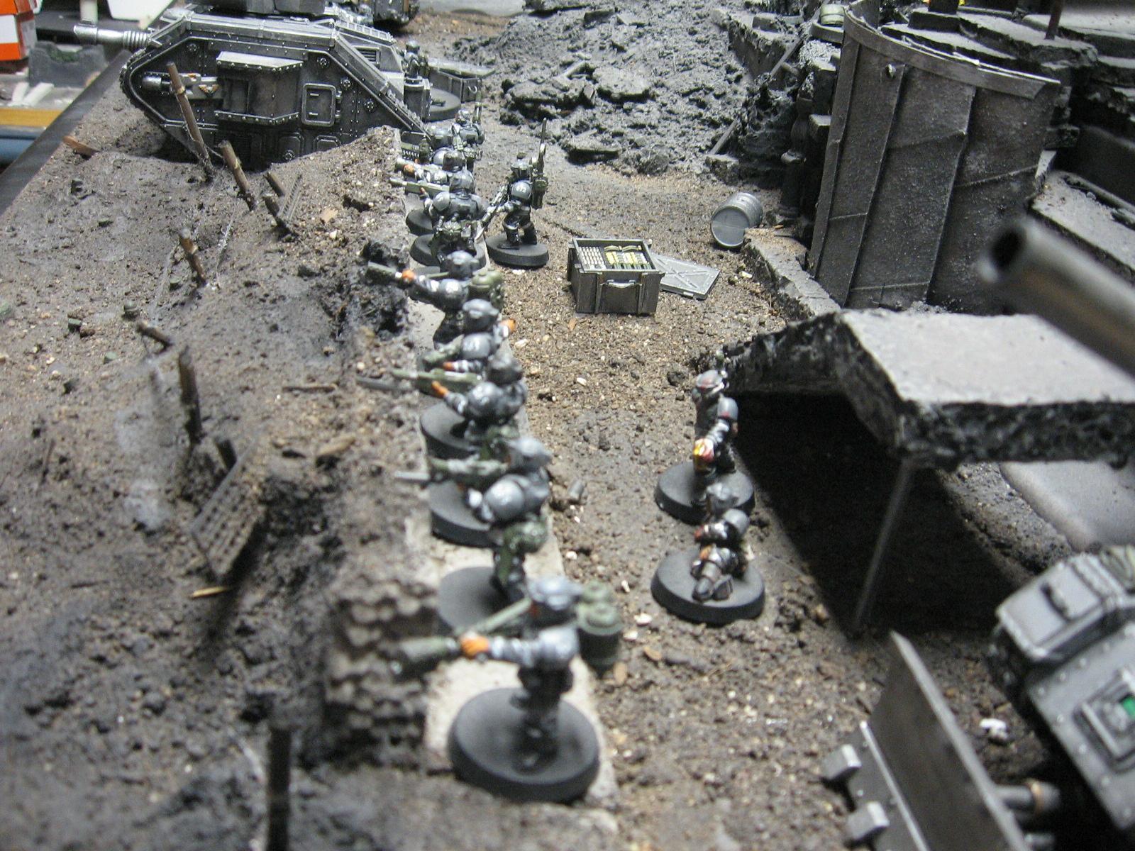 Cities Of Death, Saw, Stadium, Terrain