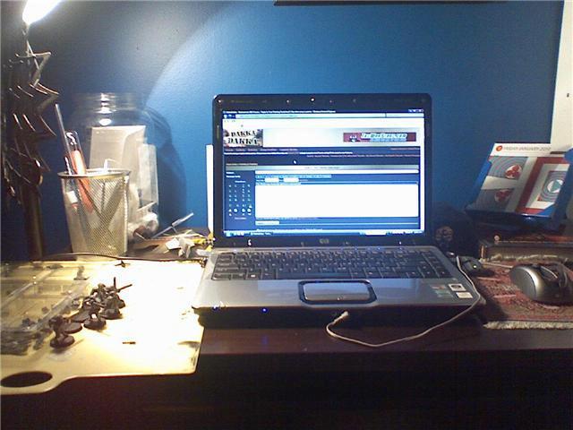 Hobby Area, desk