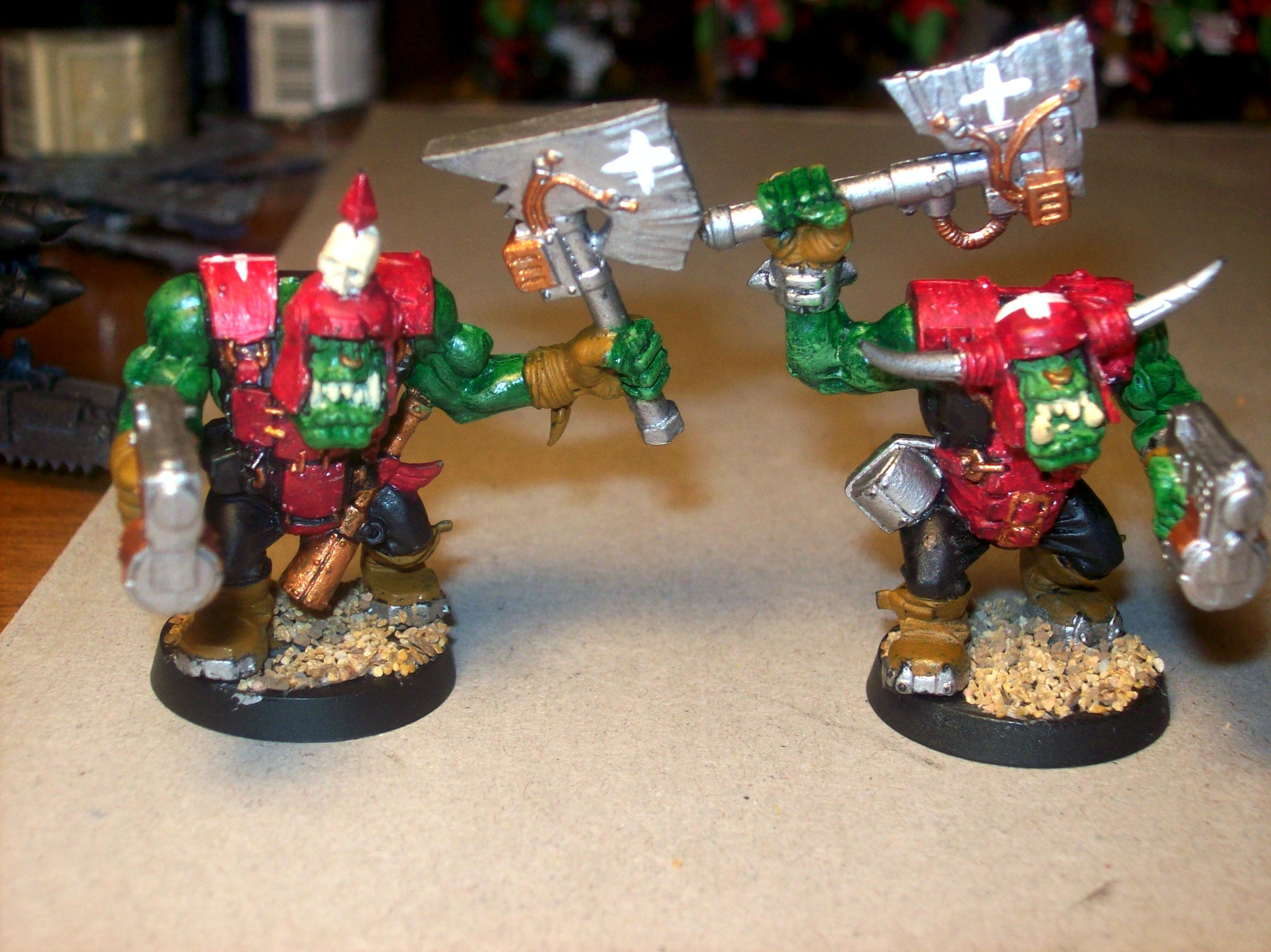 Ork Wip, Orks, Warhammer 40,000, Work In Progress