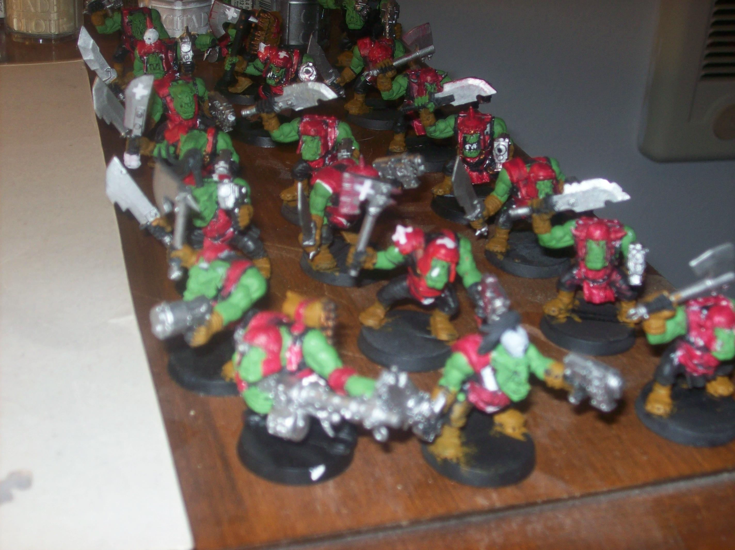 Ork Wip, My first Ork army