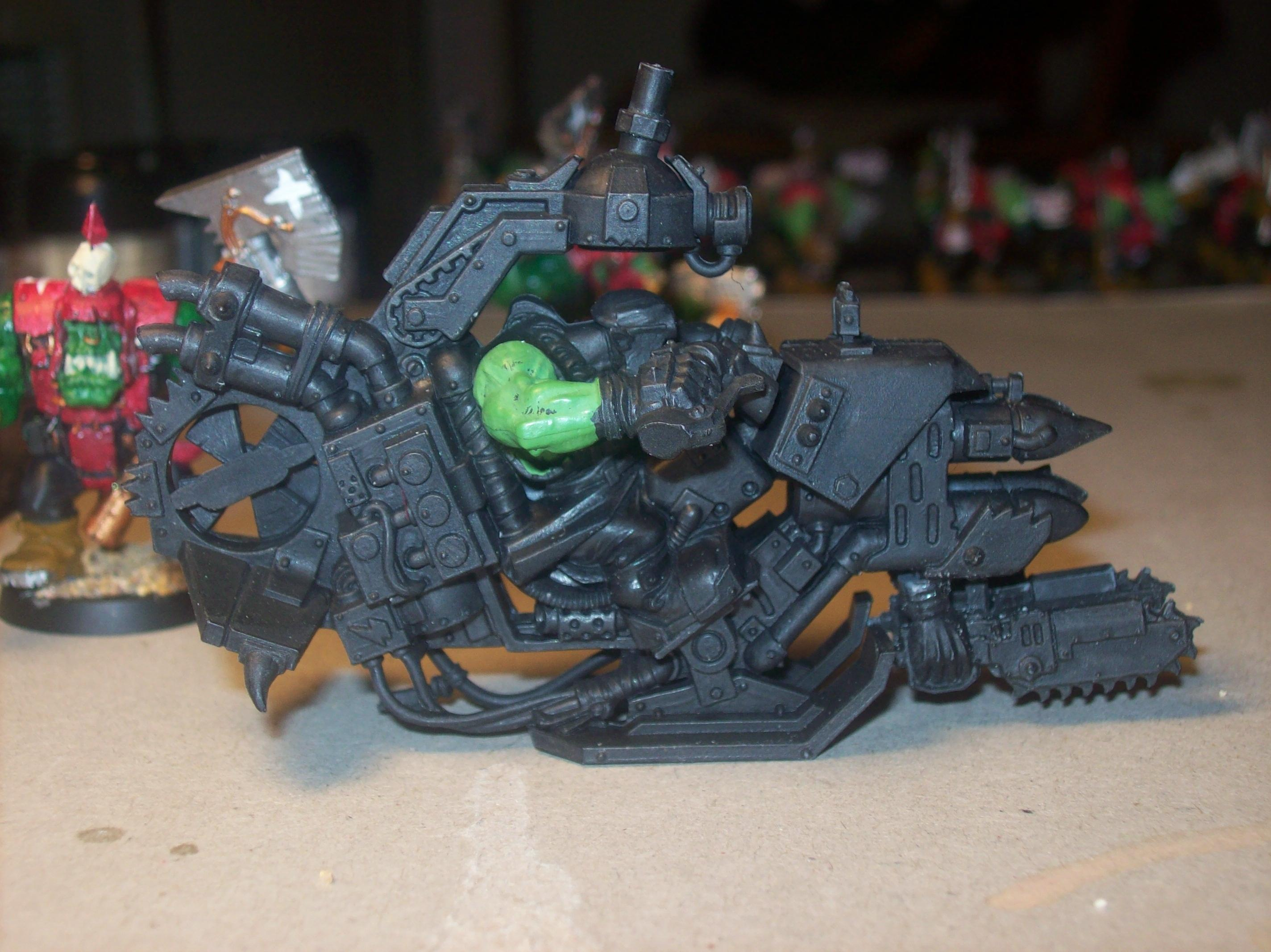 Ork Wip, Deffcopta with chain swords