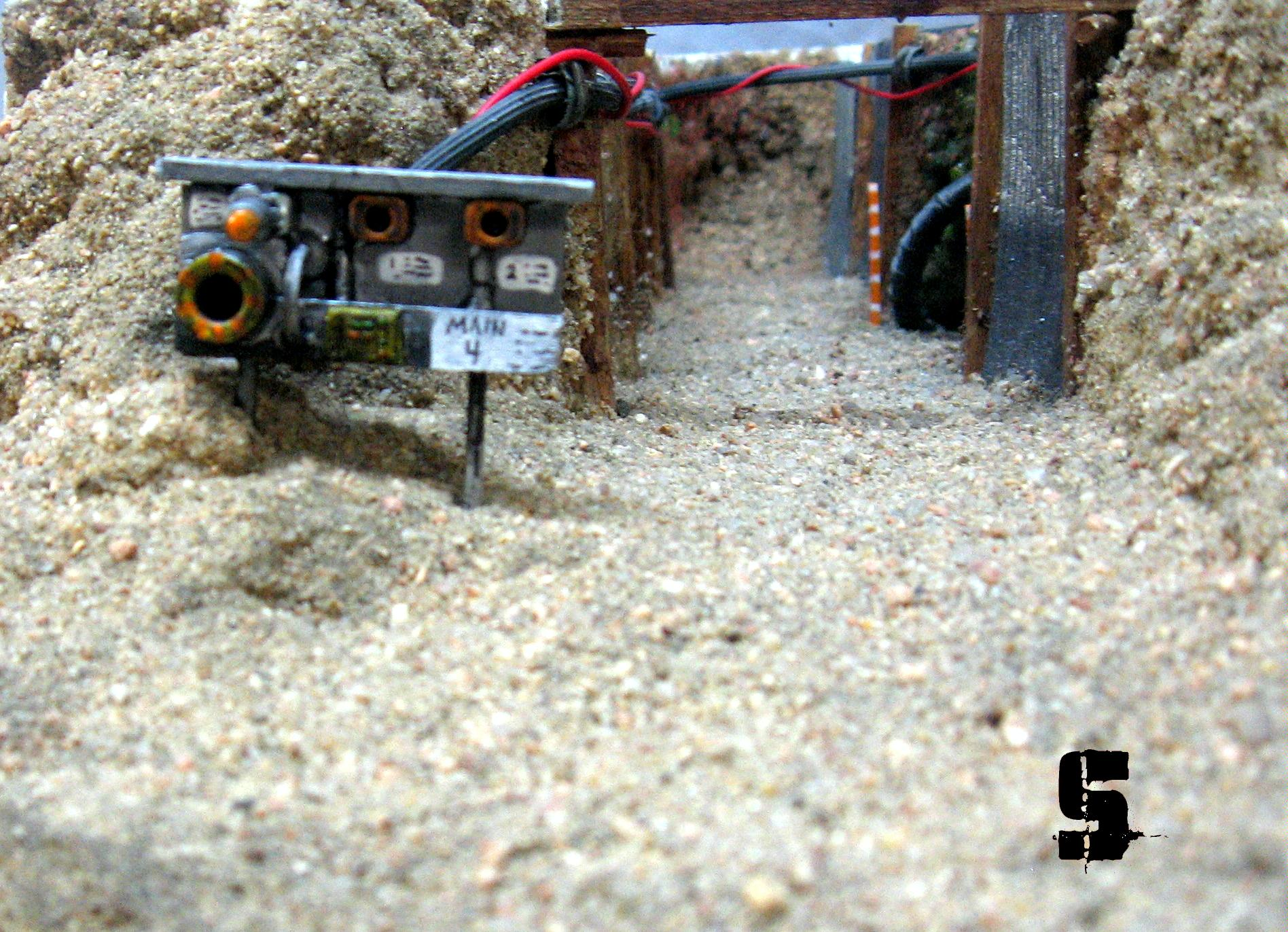 Death World, Enterance, Mine, Sand, Saw