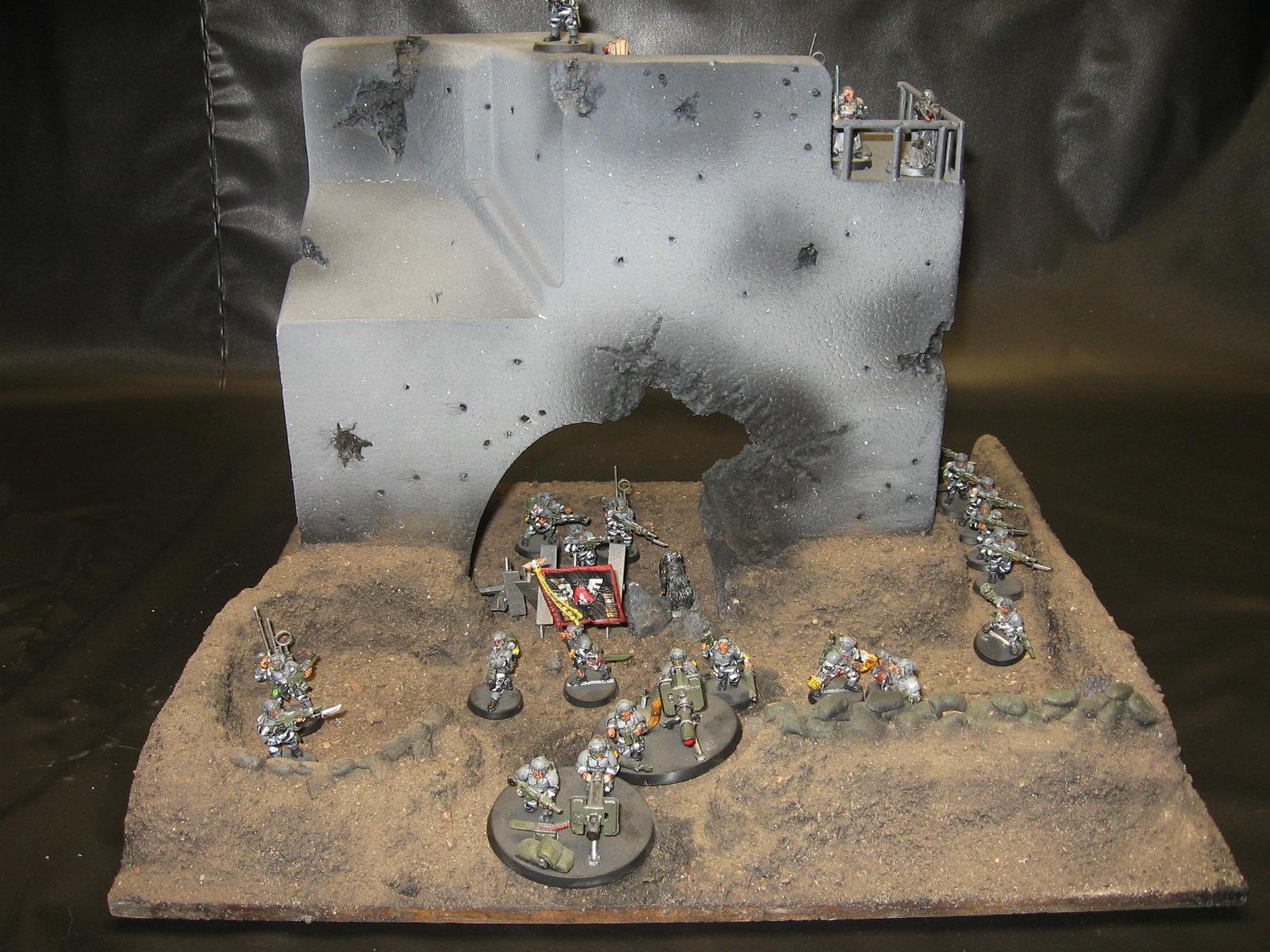 Breach, Gate, Saw, Terrain