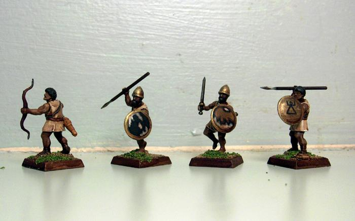 Dipped, Light Infantry, Numidians, Wargames Factory, Warhammer Ancient Battles