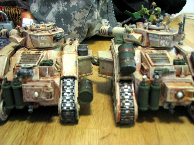Cadians, Imperial Guard, Leman Russ, Lrbt