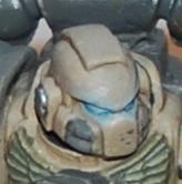 Head, Object Source Lighting, Space Marines