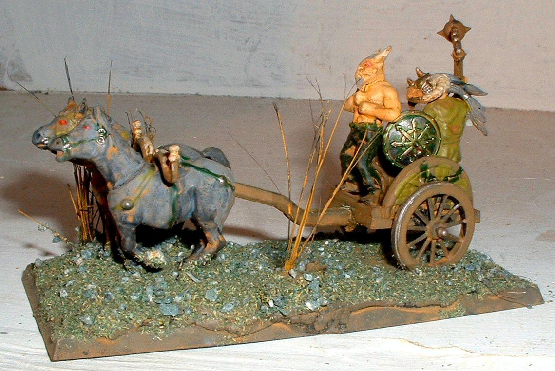 Beastman Chariot, Chariot, Nurgle, Wargames Factory