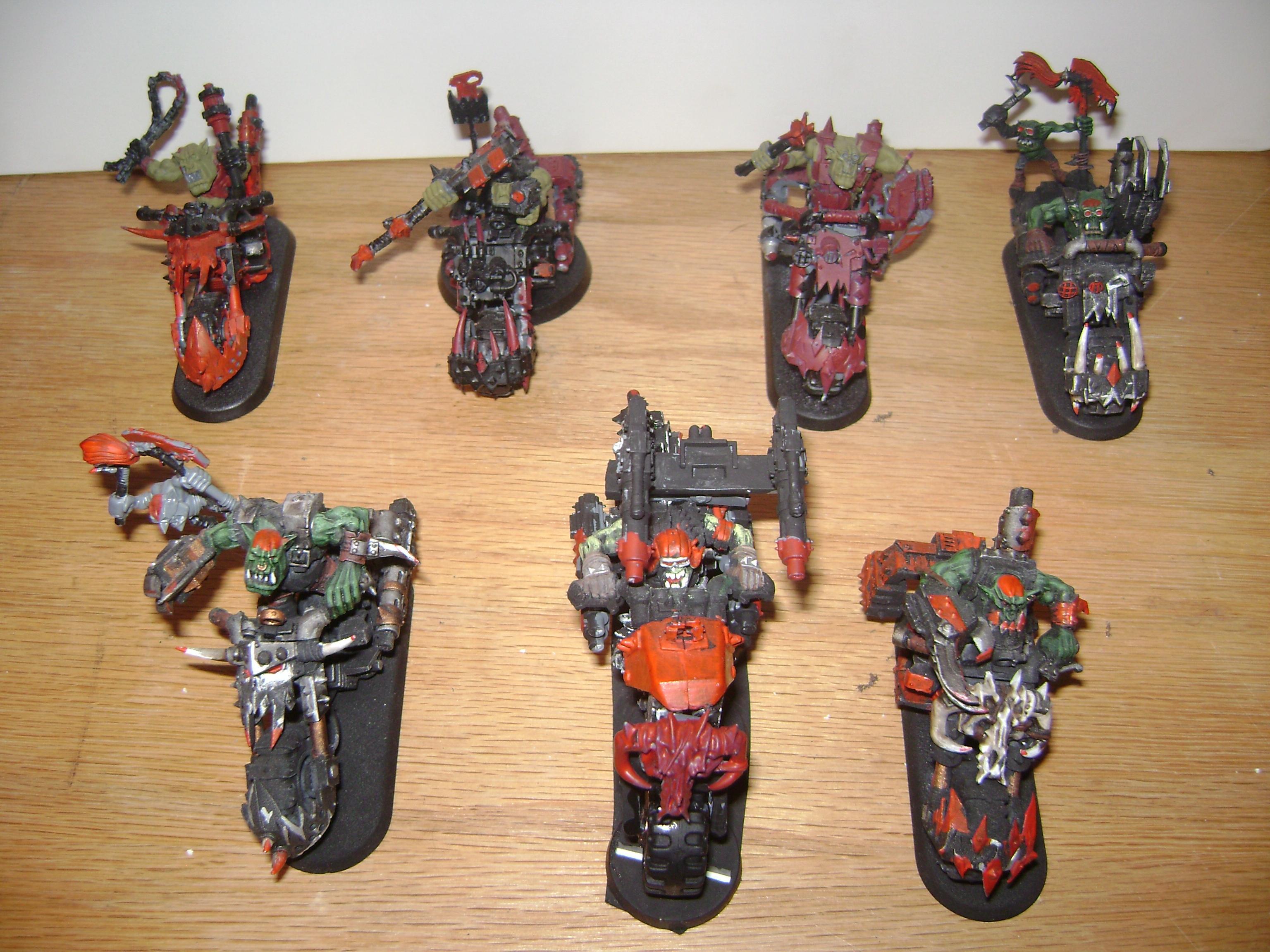 Bike, Conversion, Custom, Forge World, Nob, Orks, Warhammer 40,000, Wazzdakka